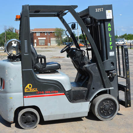 2007 Nissan MCP1F2A25LV forklift