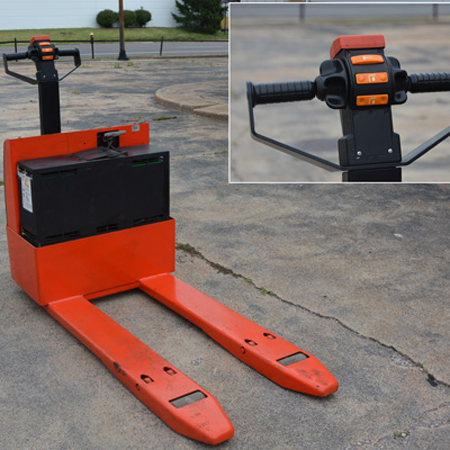 Walkies forklifts st louis st clair washington for Motorized pallet jack rental