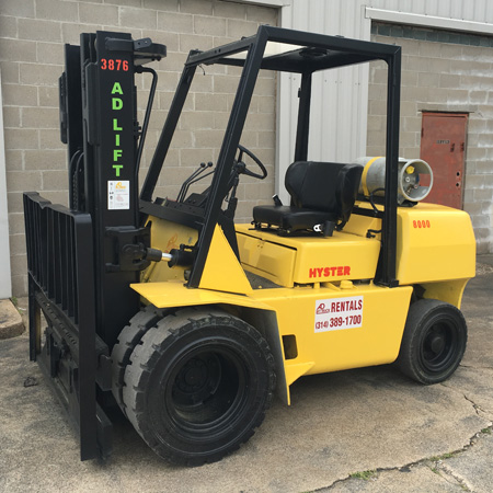 Hyster H80XL forklift